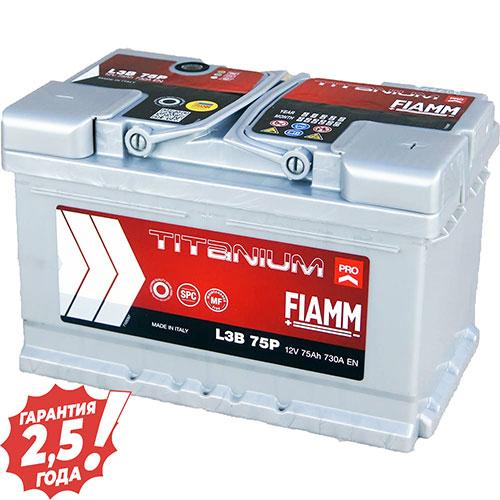 Аккумулятор 12 V 75AH 730A Fiamm Titanium Pro