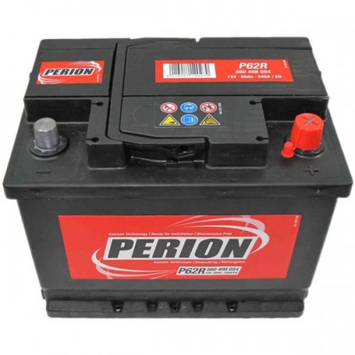 Аккумулятор 12V 60AH 540A PERION S4 005