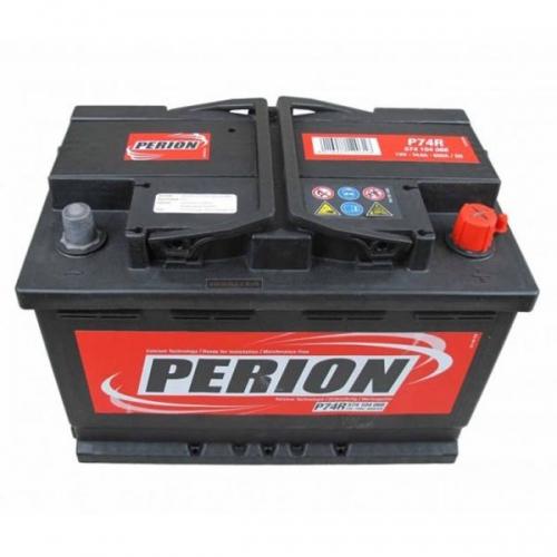 Аккумулятор 12V 74AH 680A PERION S4 008