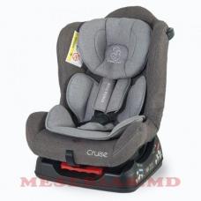 Автокресло детское 0-18 кг Mamalove Cruise серое