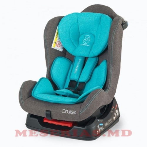 Автокресло детское 0-18 кг Mamalove Cruise синее