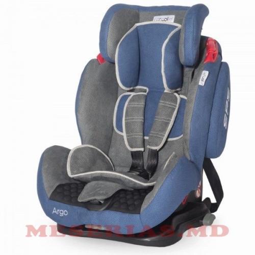 Автокресло детское 9-36 kg Coccolle Argo синее