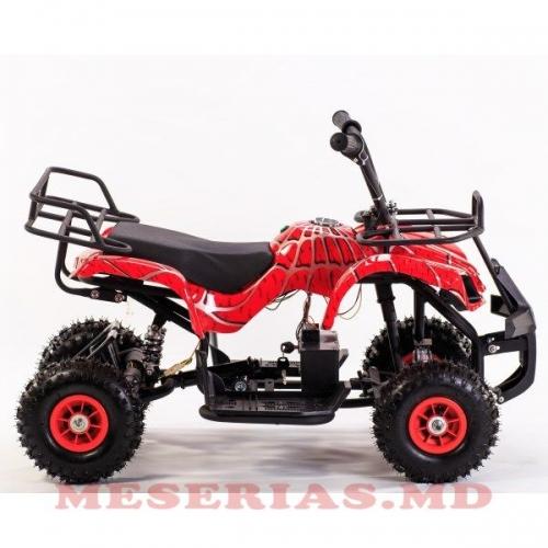 Motocicleta cu patru roti pentru copii roșie