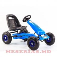 Carting pentru copii Car 8 albastru