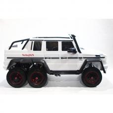 Детский электромобиль Mercedes-Benz G-Klass 4X6 White
