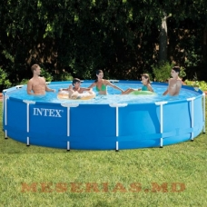Piscina 11325L 457х84cm Intex Metal Frame Pool