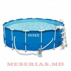 Piscina 16800L 457х122cm Intex Metal Frame Pool