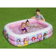 Бассейн надувной 450 л, 201x150x51 см Bestway Disney Princess