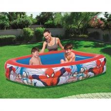 Бассейн надувной 450 л, 201x150x51 см Bestway Spider Man