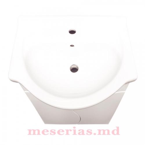 Шкаф для ванной S-Line 55 см умывальник HFL 550