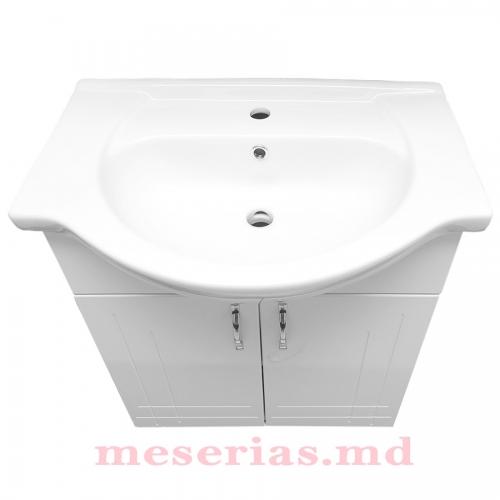 Шкаф для ванной Clasic 65 см с умывальником KF 4065