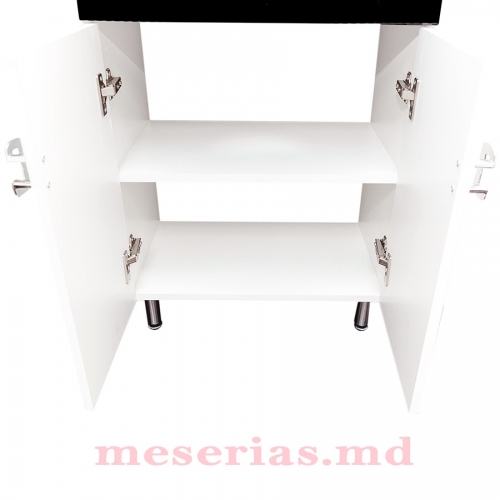 Шкаф для ванны Modern Black 55 см умывальник HFL 550