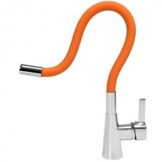 Смеситель для кухни Fala Flexible 75708 оранжевый