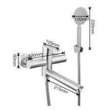 Смеситель для ванны Frap F32801