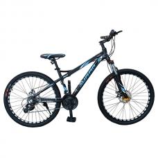 """Велосипед 26"""", 24 скорости Summa Черный/Синий"""