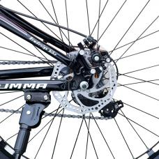 """Велосипед 26"""", 24 скорости Summa Черный/Фиолетовый"""