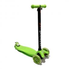 Самокат детский Scooter 30 kg Green