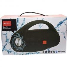 Boxă audio portabilă JC-222, albastră