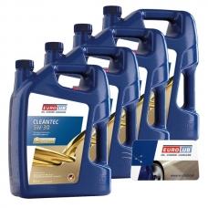 Моторное масло SAE 5W-30, 5L Eurolub CLEANTEC  (Mid SAPS)