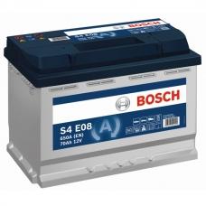 Аккумулятор 12V 70AH 760A Bosch S4 008 EFB(AGM-) 0092S4E081