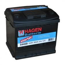 Аккумулятор 12V 44Ah 360A Hagen 54459 Starter