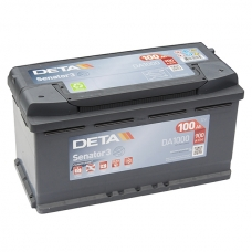 Аккумулятор 12V 100Ah 900A Deta DA1000 Senator
