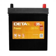 Аккумулятор 12V 35Ah 240A Deta DB356 Power