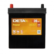 Аккумулятор 12V 35Ah 240A Deta DB357 Power