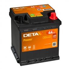 Аккумулятор 12V 44Ah 400A Deta DB440 Power
