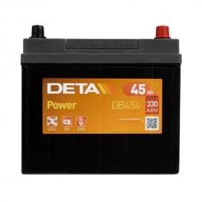 Аккумулятор 12V 45Ah 330A Deta DB454 Power