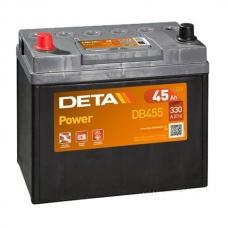 Аккумулятор 12V 45Ah 300A Deta DB455 Power