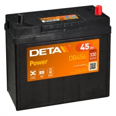 Аккумулятор 12V 45Ah 330A Deta DB456 Power