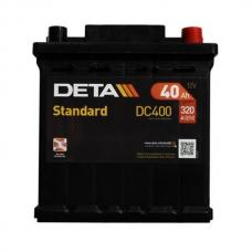 Аккумулятор 12V 40Ah 320A Deta DC400 Standard