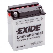 Аккумулятор 12V 12Ah 165A Exide EB12AL-A2