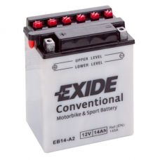 Аккумулятор 12V 14Ah 145A Exide EB14-B2