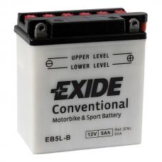 Аккумулятор 12V 5Ah 65A Exide EB5L-B
