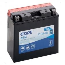Аккумулятор 12V 12Ah 190A Exide ET14B-BS