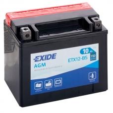 Аккумулятор 12V 10Ah 150A Exide ETX12-BS