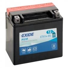Аккумулятор 12V 12Ah 200A Exide ETX14-BS