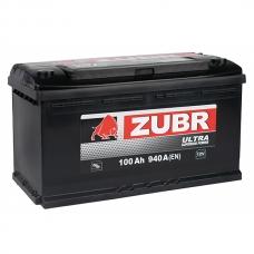 Аккумулятор 100Ah 940A ZUBR Ultra 100 Ah R+
