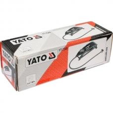 Насос ножной с манометром Yato YT-7349