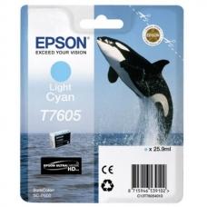 Картридж Epson (C13T76054010) T760 SC-P600 Light Cyan