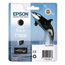 Картридж Epson (C13T76084010) T760 SC-P600 Matte Black