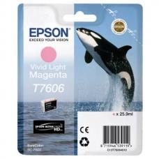 Картридж Epson (C13T76064010) T760 SC-P600 Vivid Light Magenta