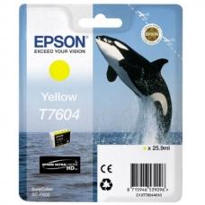 Картридж Epson (C13T76044010) T760 SC-P600 Yellow