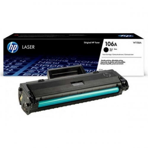 Картридж лазерный HP 106A Black
