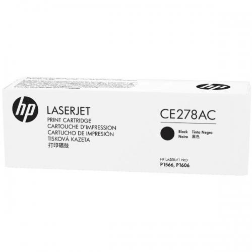 Картридж лазерный HP CE278AC Black
