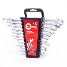 Набор комбинированных ключей 12 шт, 6-22 мм Intertool HT-1203