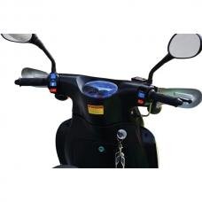 Скутер 49,9 см³  Viper EX50C, черный