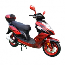 Скутер 49,9 см³  Viper EX50QT-S STORM, красный